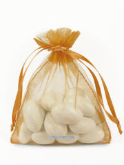 Gold Organza Bags