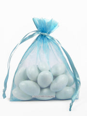 Light Blue Organza Bags