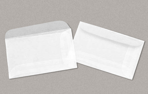 "100 Glassine Envelopes 1-3/4 x 2-7/8 Inches (""No.1"" Size) - Ungummed, Supply Storage"