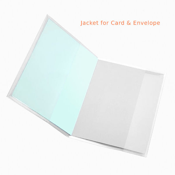 Various Sizes: Card Jacket Cello 'Bags' (Dust Jackets)