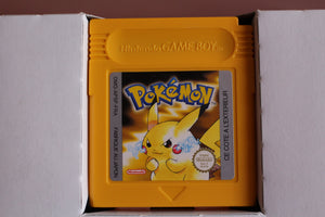 Jeu Gameboy - Pokemon Version Jaune