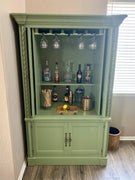 Vintage Repurposed Bar