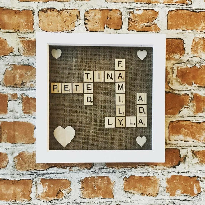 Scrabble Frame Collection