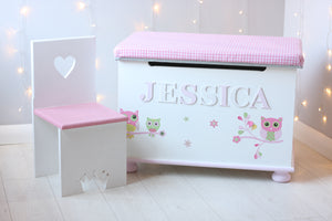 Handmade Wooden Toy Boxes