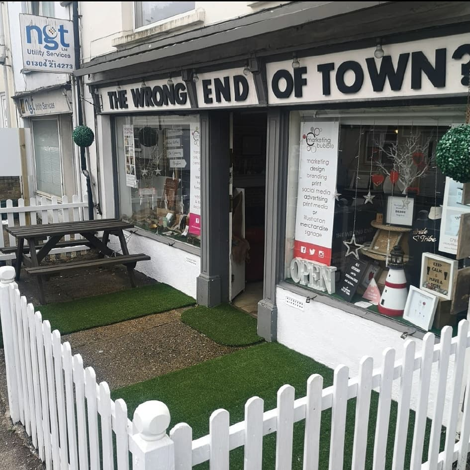 The Wrong End of Town shop in Dover
