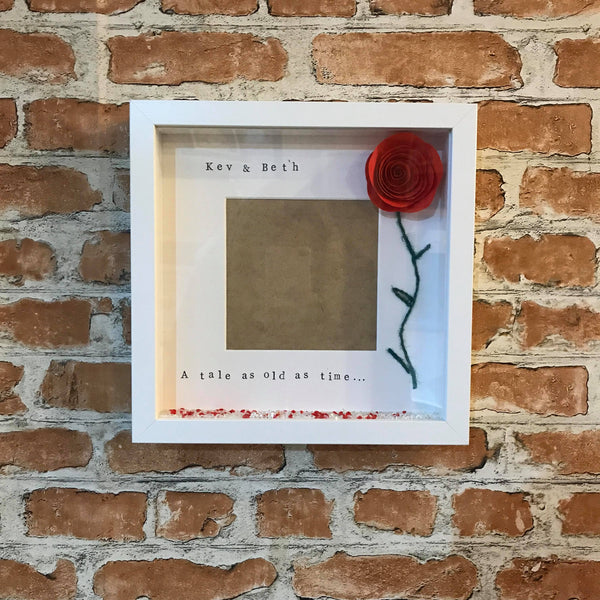 Beauty and The Beast photo frame