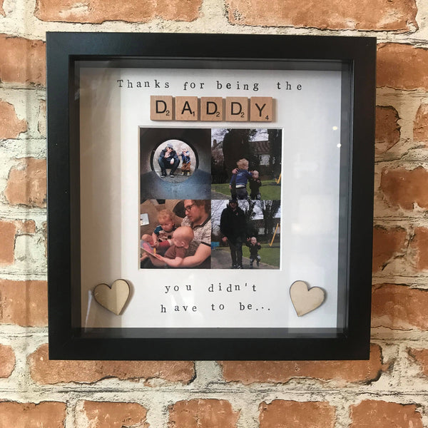 Step Dad Photo Frame - Fathers Day Gift