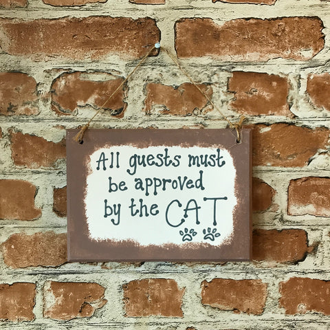 Cat Lover Wooden Plaque Gift