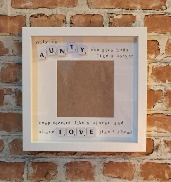 Photo Frame for Auntie