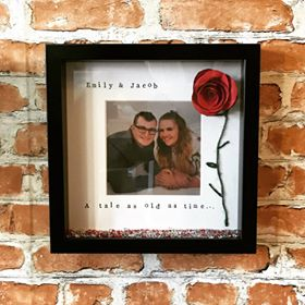 Beauty and The Beast style photo frame