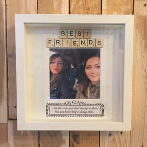 Best Friends Scrabble Photo Frame