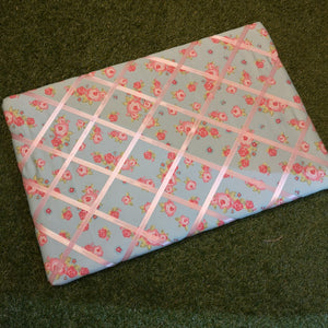 Shabby chic pin board notice board