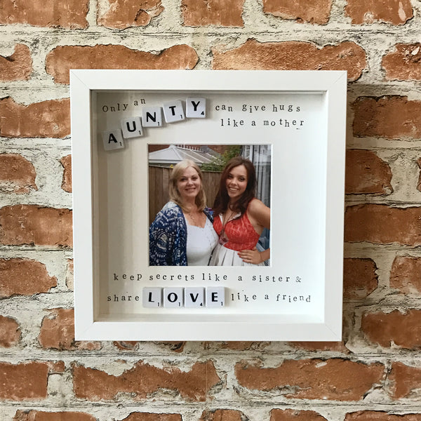 Auntie Aunty Photo Frame