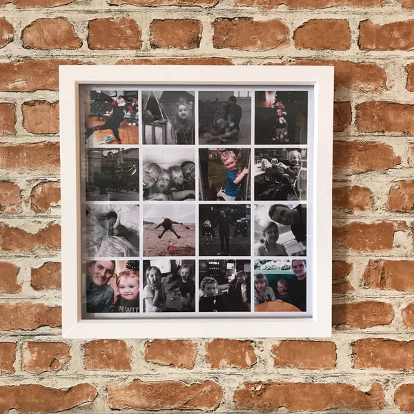 Multiple Picture Polaroid Style Frame