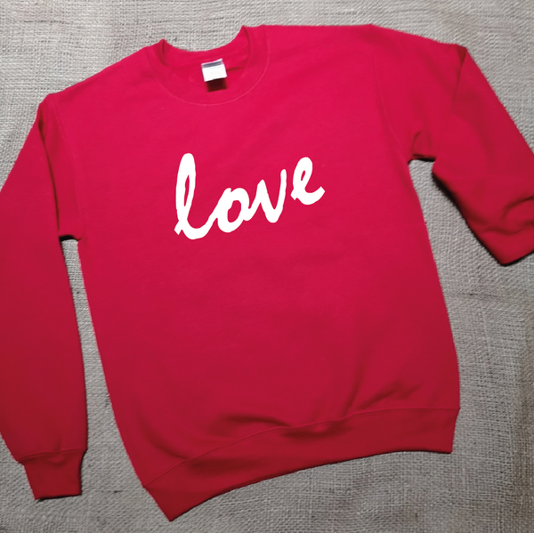Cosy Round Neck Jumper with 'Your Message' Design