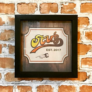 Cheers Style Man Cave Frame