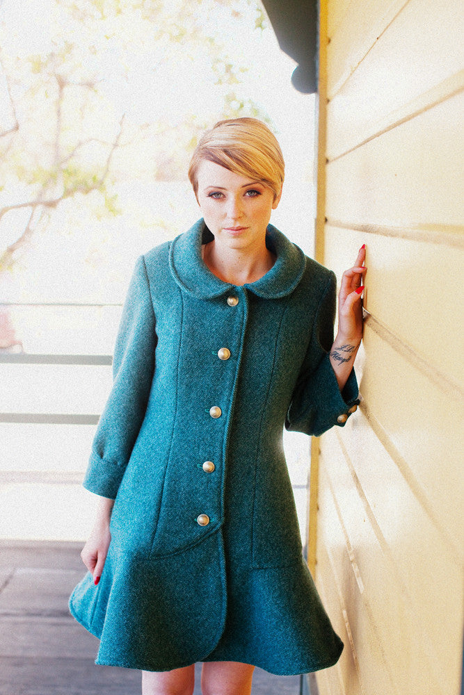 Abbey Coat sewing pattern - Jamie Christina - Boutique style sewing ...