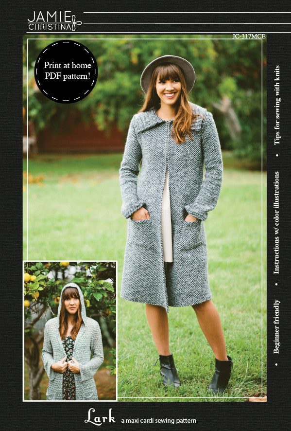 Lark e-pattern - Jamie Christina - Boutique style sewing patterns