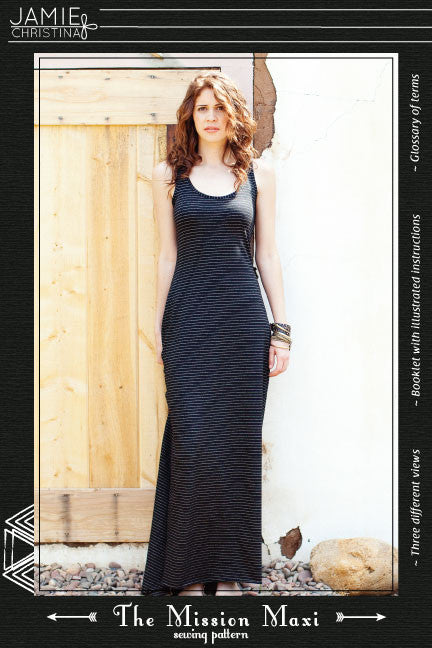 Mission Maxi sewing pattern