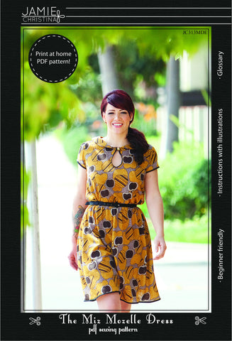 Miz Mozelle Dress e-pattern