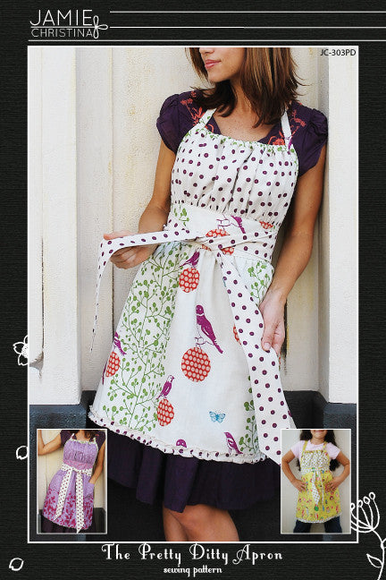 Pretty Ditty Apron sewing pattern
