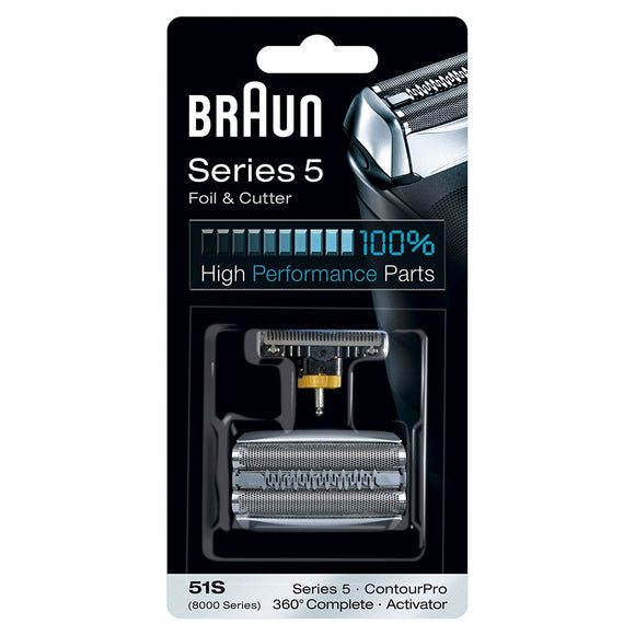 Braun 51S Series 5 Electric Shaver Replacement Foil and Cassette