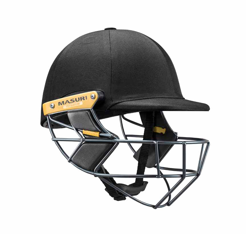 MASURI T LINE TITANIUM CRICKET HELMET - TRADE ACCOUNTS