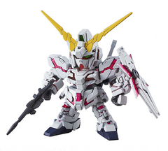 gunpla SD 005 Unicorn Gundam (Destroy Mode)