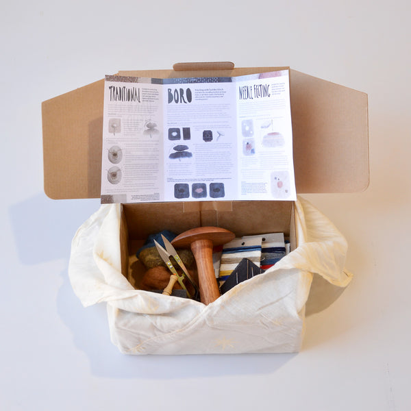 Darning & Mending with our Darn it! Mend it Woollykins Ultimate Mending Kit