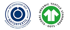 GOTS certification and IVN best certified Natural Textiles standard