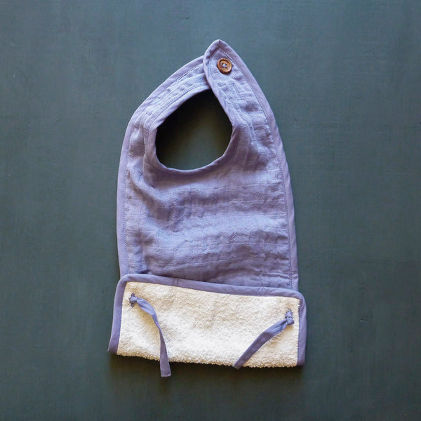 Organic Muslin Feeding Pocket Bib