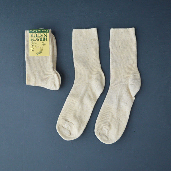 Organic Wool/Cotton/Linen Socks (0-9m only) *Last ones