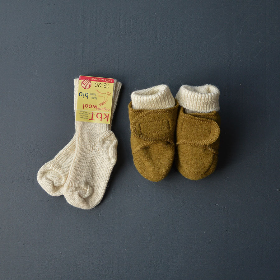 Child's Chunky Socks in 100% Organic Wool