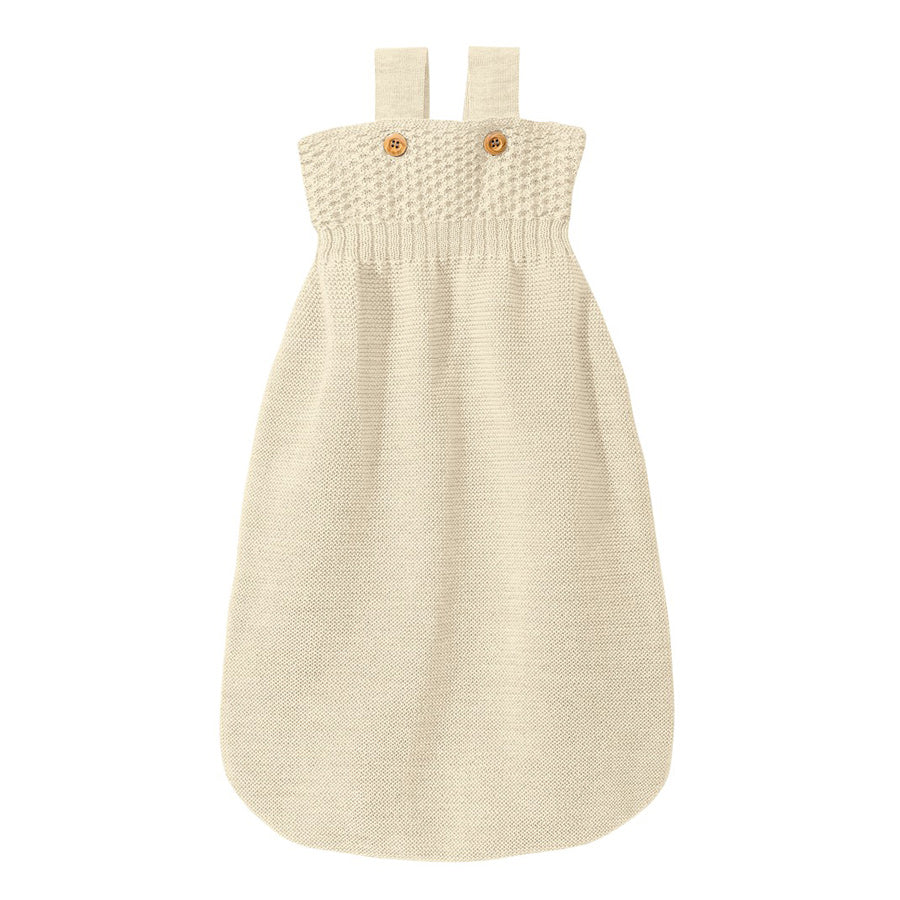 Knitted Sleeping Bag Organic Merino Wool (0-18m+)