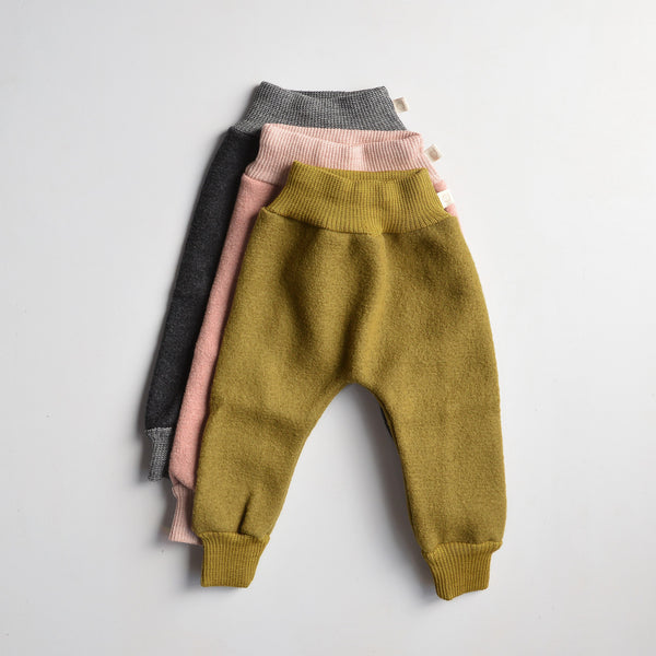 Boiled Wool Bubble Pants (0-4y)