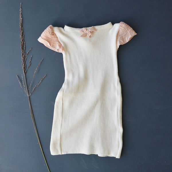 Handmade Organic Cotton Baby Dress (6-18m)