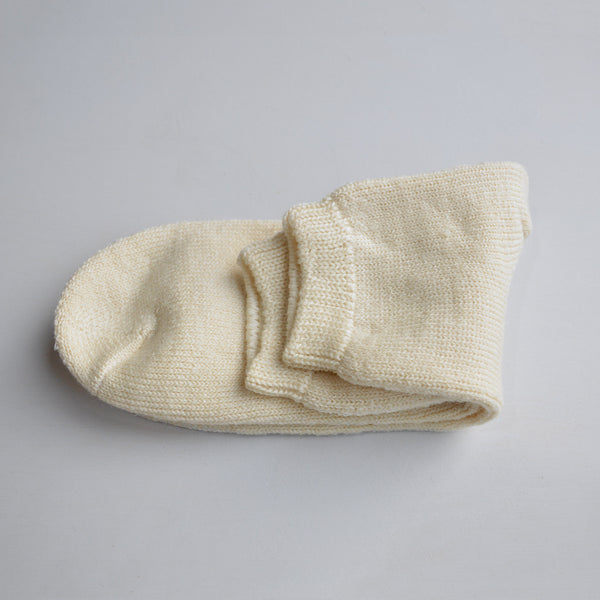 Adult's Wool/Silk Bed Socks (36-43)