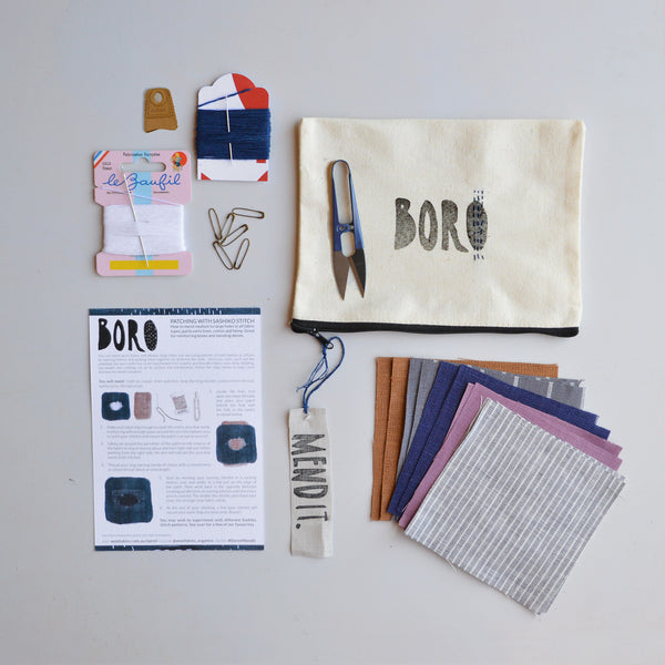 The Boro Mending Kit (pre-order 1 week)