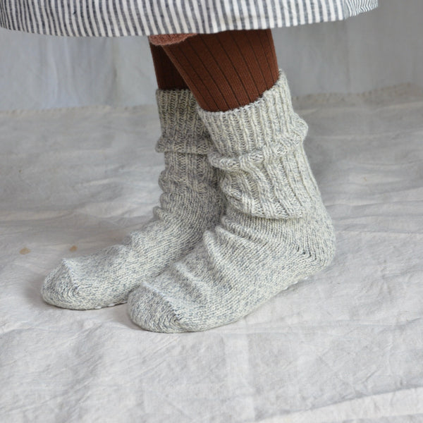 Adult's Chunky Norwegian Socks (42-43 only) 100% Wool