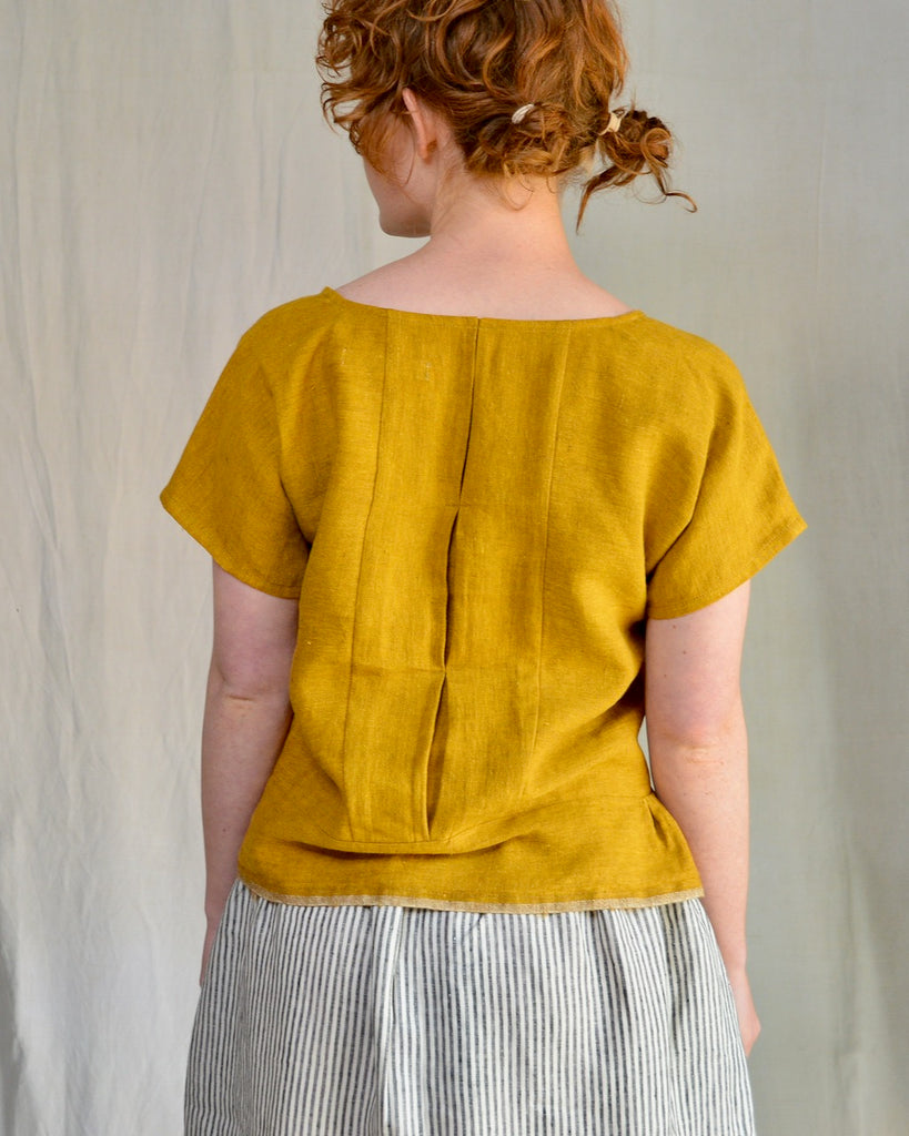 Linen Pieces Top - Souk (S-L)