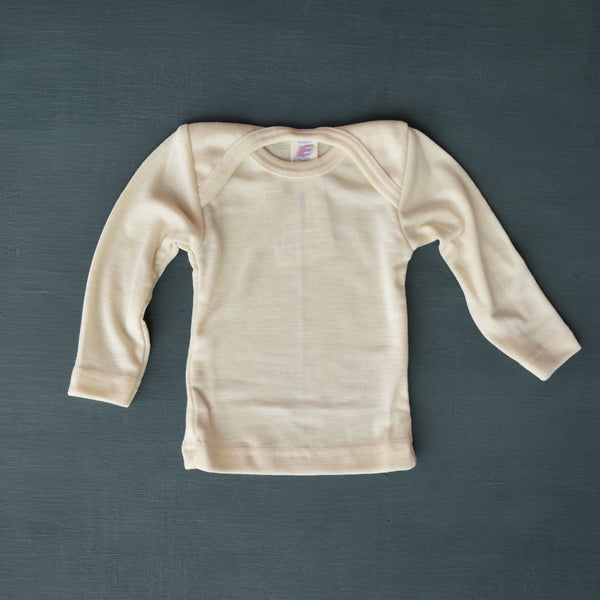 Baby Top Wool/Silk Longsleeve (3m-3y)