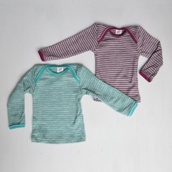 Baby Top Wool/Silk Longsleeve (3m-3yrs)