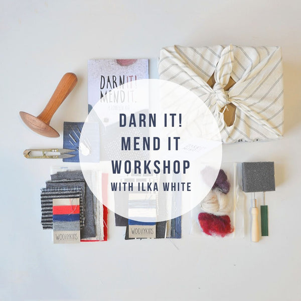Workshop | Darn it! Mend it. Learn to mend with Ilka White 25/3 Castlemaine