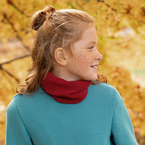 Tube Scarf in Organic Merino (child-adult) *Coming soon!