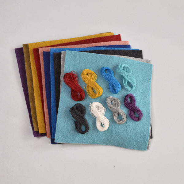 Boiled Wool Disana Patch Kit