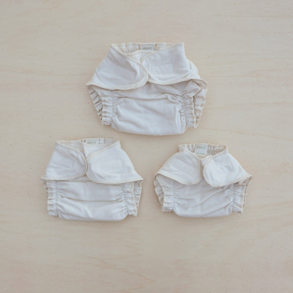Fitted Nappy in Organic Cotton