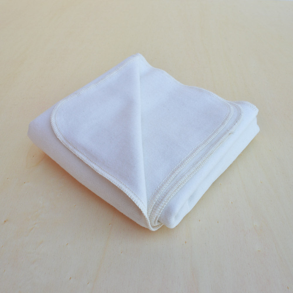 Brushed Organic Cotton Blanket 80x80cm