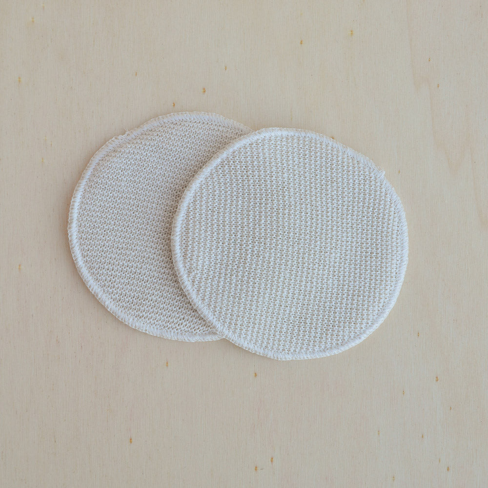 Disana, Breast Pads in 3 layers of Silk / Wool / Silk, Woollykins - Australia