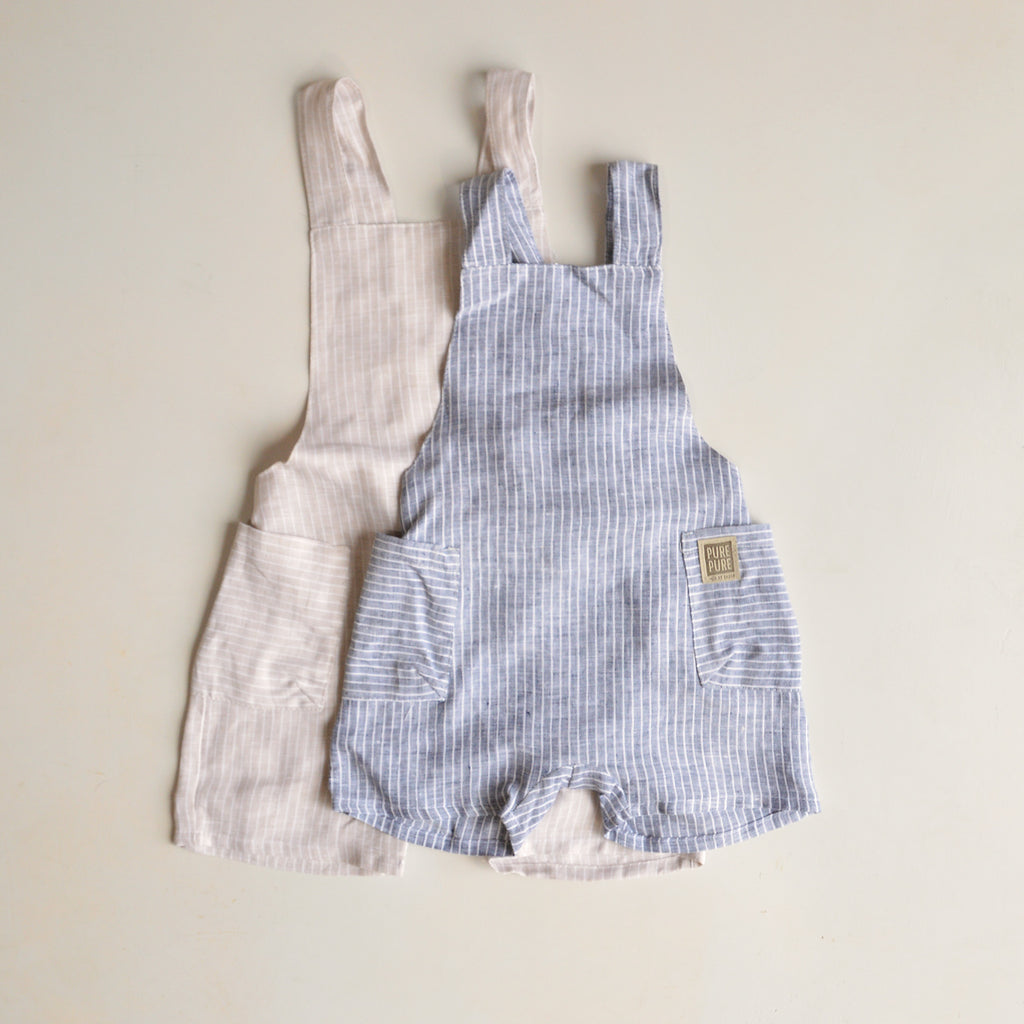 Linen Dungarees (1-4y)