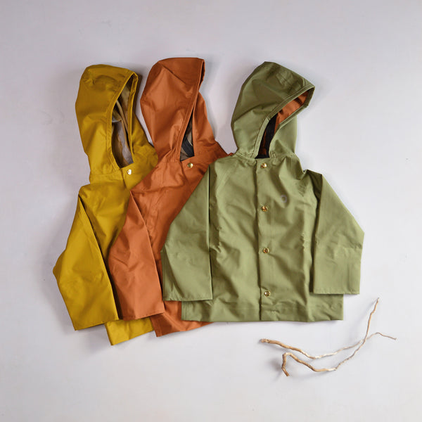 Rain Coat for Kids (1-12y) 100% recycled PET